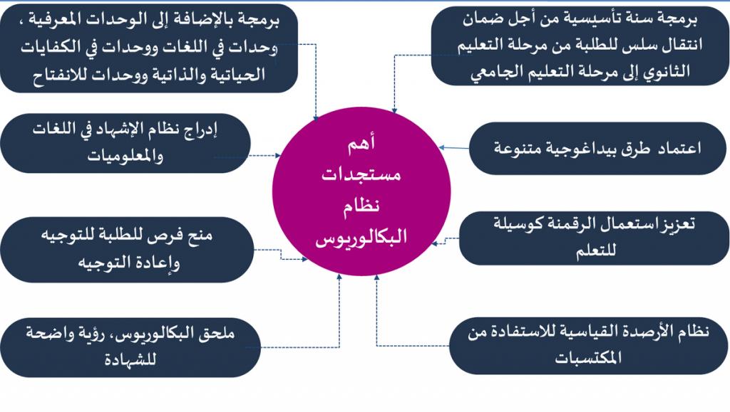 مميزات نظام البكالوريوس